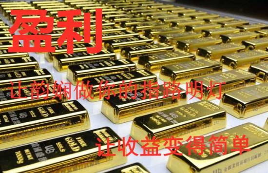 许韵娴:黄金跌破1280美元坚挺,如何操作才能获利?